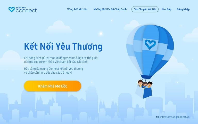 Samsung Connect: Tiếp tục hành trình kết nối những ước mơ