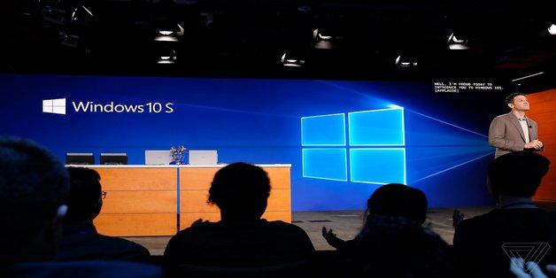 Đã có thể tải về Windows 10 S