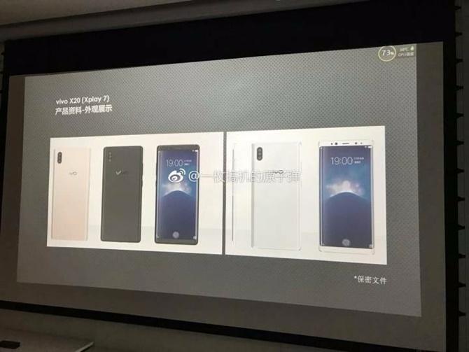 Vivo Xplay 7 là chiếc smartphone đầu tiên tích hợp cảm biến vân tay trên màn hình và có tới 3 camera