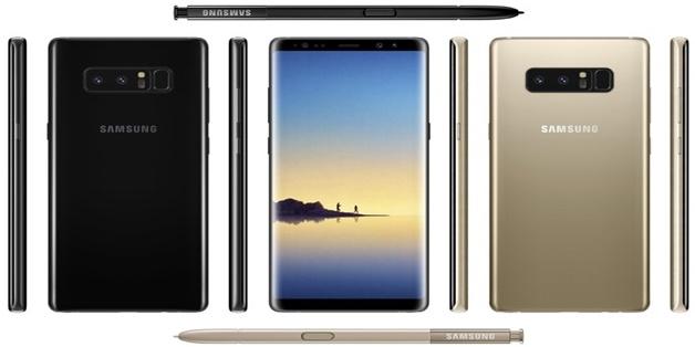 Galaxy Note 8 lộ thông số: 6GB RAM, camera kép 12MP, màn hình 6.3 inch