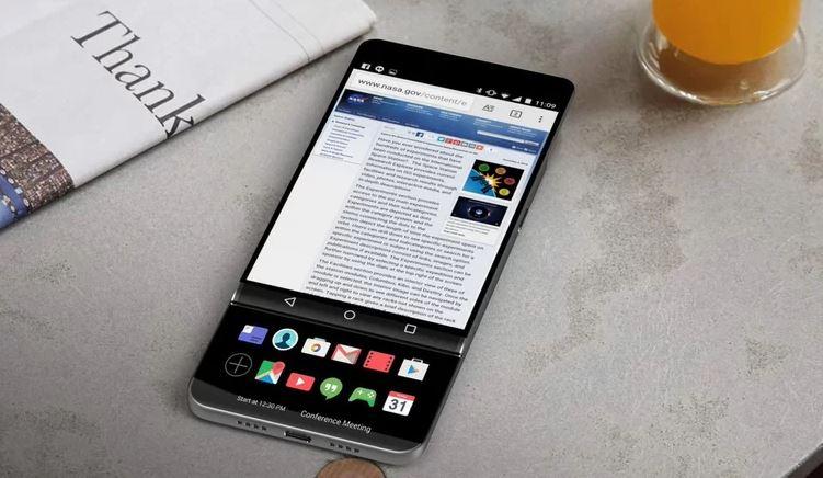 LG V30 màn OLED 6 inch, tiếc là sẽ không bán ở Việt Nam