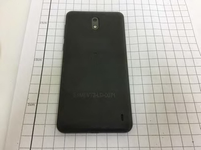 Lộ diện ảnh chính thức đầu tiên của Nokia 2