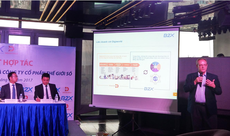 B2X liên doanh với Digiworld mở rộng CSKH tại Việt Nam, hỗ trợ cả Samsung