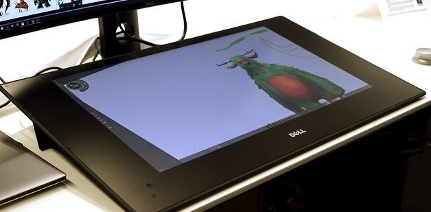 Dell giới thiệu bàn vẽ cảm ứng Canvas giá 1.800 USD, rẻ hơn nhiều so với Surface Studio