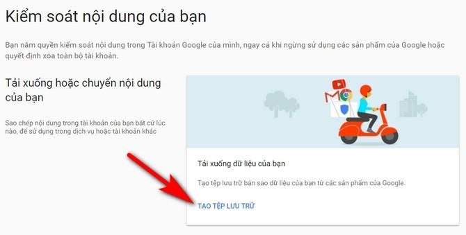 Mẹo sao lưu offline dữ liệu từ Facebook, Gmail, YouTube, Instagram