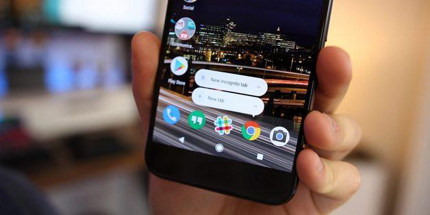 Chrome trên Android cho phép tìm kiếm, truy cập web từ màn hình chính