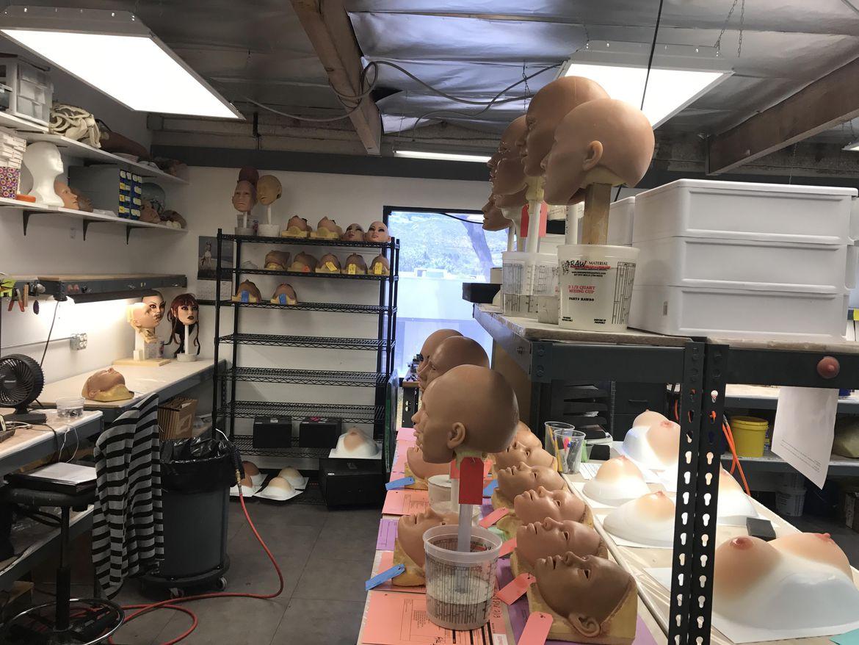 Đột nhập nhà máy sản xuất búp bê tình dục được trang bị AI - ảnh 17