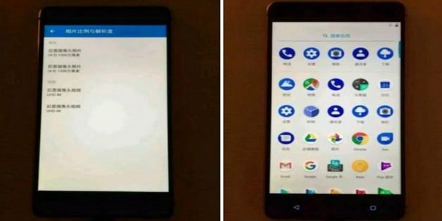 Nokia 8 chỉ có 2 nút cảm ứng ở mặt trước?