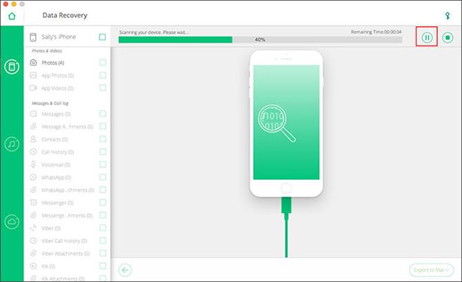 Khôi phục dữ liệu đã mất trên iPhone/iPad với phần mềm iOS Data Recovery