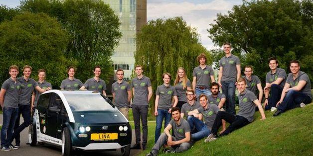 Sinh viên Hà Lan chế tạo xe ô tô điện có thể tự phân hủy sinh học