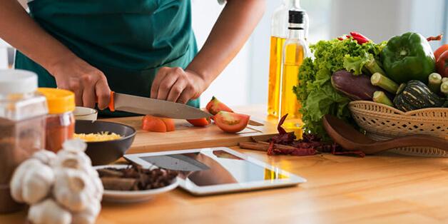 Hướng dẫn tìm công thức nấu ăn từ... Google Image