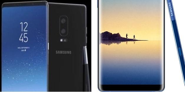 Galaxy Note 8 sẽ dùng camera kép 12MP + 13MP, có thêm màu xanh biển?