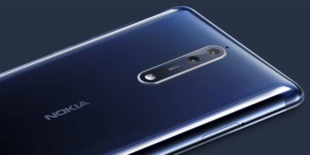 Nokia 8 chính thức ra mắt: camera kép Zeiss, Snapdragon 835, giá trên 700 USD