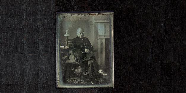 Đây là ảnh chụp chân dung tổng thống Mỹ lâu đời nhất còn lưu giữ