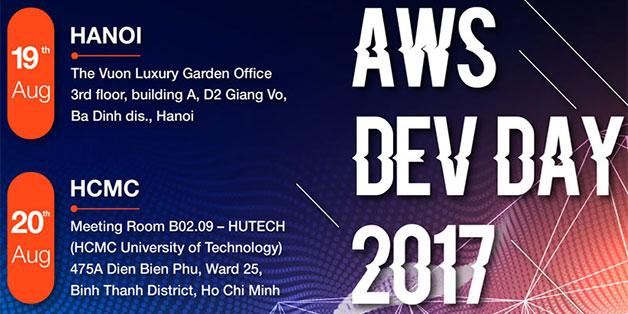 Amazon Web Services lần đầu tổ chức sự kiện công nghệ cho giới lập trình Việt