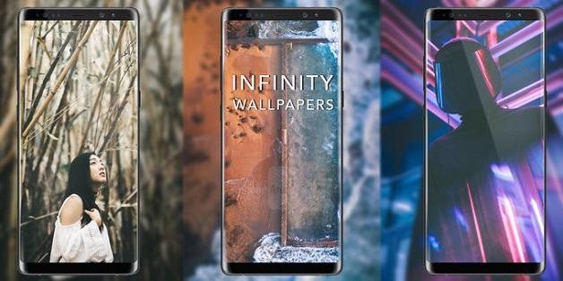 """Mời tải về hơn 30 hình nền """"vô cực"""" tuyệt đẹp cho Galaxy S8/S8+/Note 8"""