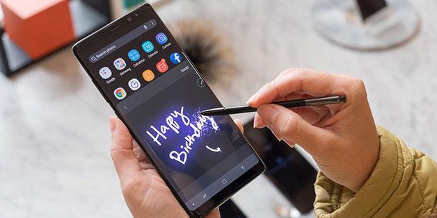 Cận cảnh Samsung Galaxy Note8 chính thức