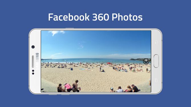 Theo The Verge đưa tin, Facebook đã cho phép người dùng có thể tự tạo ảnh  360 độ ngay trong ứng dụng mạng xã hội này và đăng tải trực tiếp.