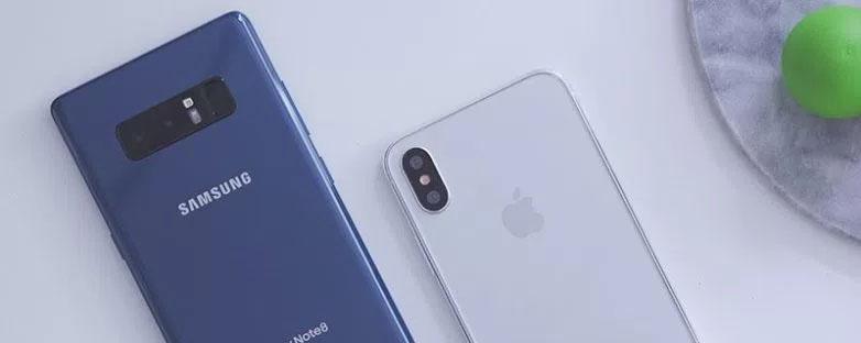 Note 8 – iPhone 8 và cuộc chiến bản lề