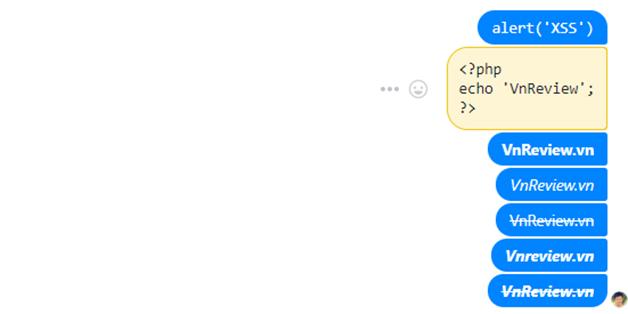 Mẹo định dạng văn bản khi chat trên Messenger