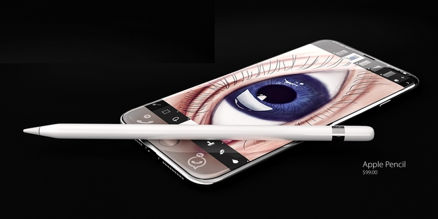 iPhone sẽ sớm hỗ trợ bút Pencil để cạnh tranh với dòng Galaxy Note