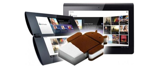 Sony Tablet P sẽ lên Android 4.0 vào ngày 24/5