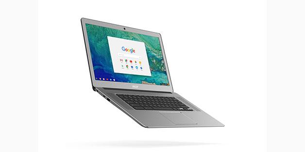 [IFA 2017] Acer làm mới dòng Chromebook 15 với vỏ nhôm, giá tăng thêm 100 USD