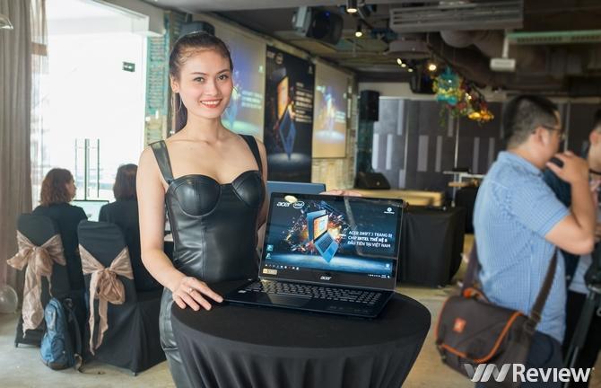 Laptop dùng chip Intel thế hệ thứ 8 đầu tiên trên thế giới cập bến Việt Nam