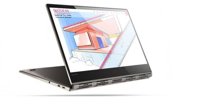 IFA 2017: Lenovo giới thiệu laptop 2 trong 1 cao cấp Yoga 920, viền mỏng, màn hình 4K