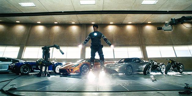 Robot sắp bay được như Iron Man
