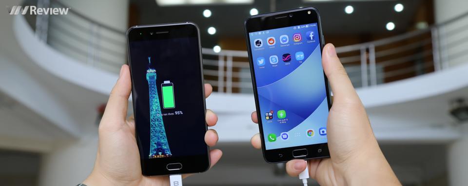 Đánh giá pin Asus Zenfone 4 Max Pro: khi pin là ưu tiên số một