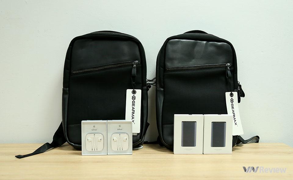 Công bố 6 bạn đọc trúng thưởng ba lô, tai nghe Apple EarPods và pin sạc Xiaomi Gen2