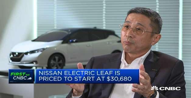 Nissan ra mắt Leaf 2018: Ô tô điện có giá chỉ 680 triệu đồng
