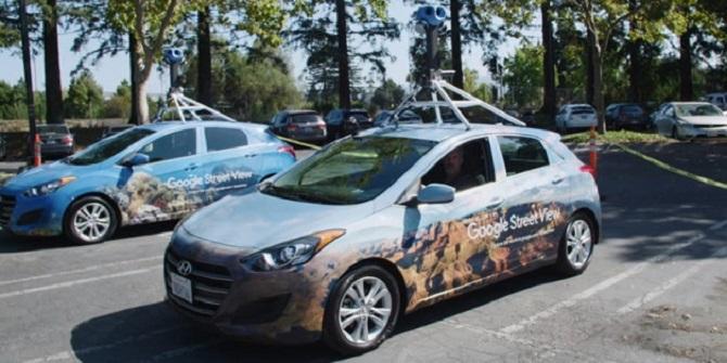 Google cải tiến Street View bằng camera và trí tuệ nhân tạo