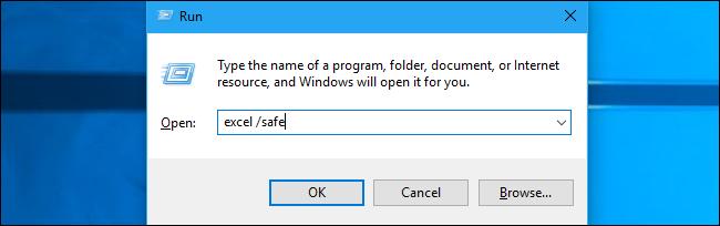 Hướng dẫn mở Word, Excel, hay Power Point trên Safe Mode