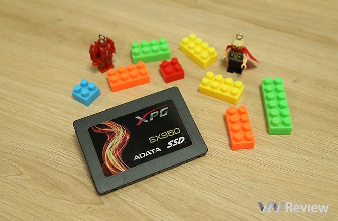 Benchmark nhanh Adata XPG SX950: ổ SSD dành cho game thủ