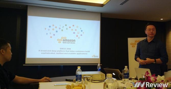 Amazon Web Services nhảy vào mảng doanh nghiệp tại Việt Nam
