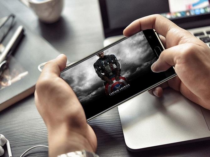 Thời lượng pin Oukitel K3: còn lại 87% sau 2 giờ xem phim