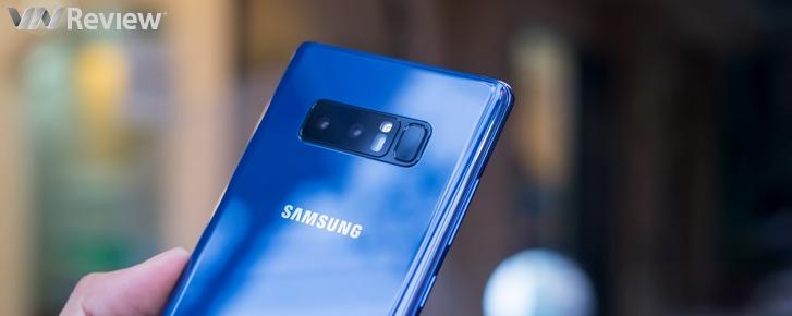 Cận cảnh Samsung Galaxy Note 8 đầu tiên tại Việt Nam