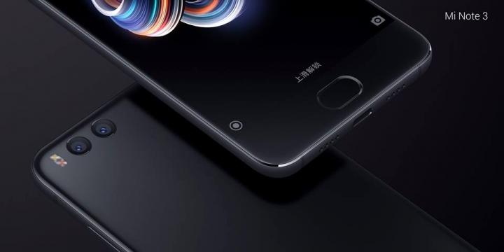 Thông số và cấu hình chính thức của Xiaomi Mi Note 3 - 204279