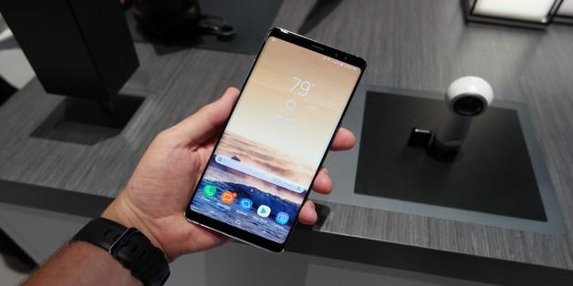 Mách bạn 5 cách chụp ảnh màn hình trên Galaxy Note 8