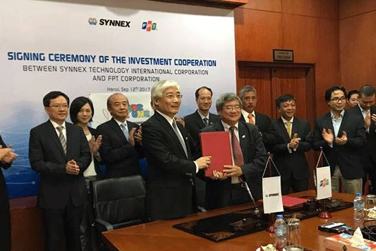 Nhà phân phối Đài Loan mua 47% vốn điều lệ của FPT Trading