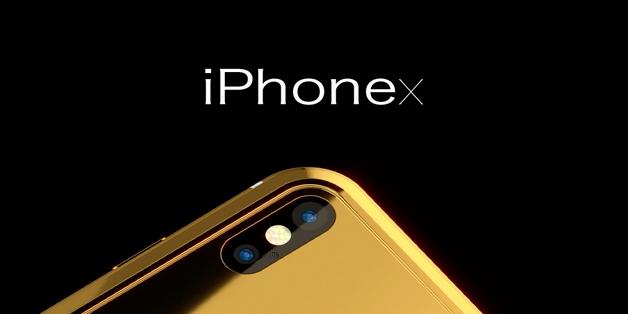 iPhone X phiên bản mạ vàng giá 1,6 tỷ đồng