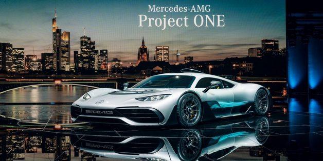 Ngắm siêu xe Mercedes-AMG Project ONE chạy động cơ F1
