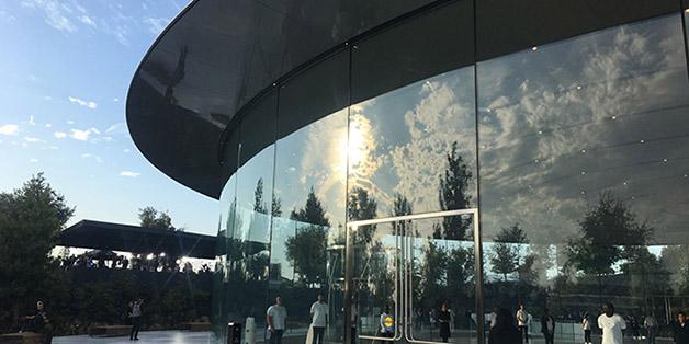 Những hình ảnh đầu tiên bên trong trụ sở mới của Apple ngày ra iPhone mới
