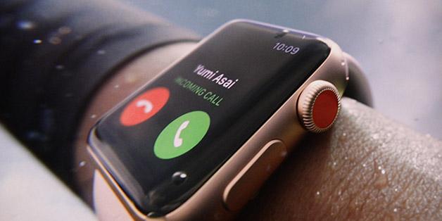 Apple giới thiệu Apple Watch Series 3 hỗ trợ LTE, gọi điện được, giá 249 - 399 USD