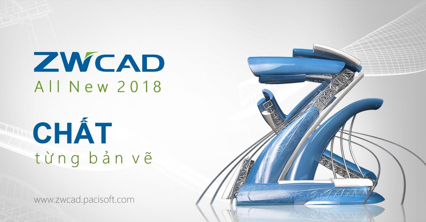 ZWCAD 2018: Tập trung vào bản vẽ với giao diện hoàn toàn mới