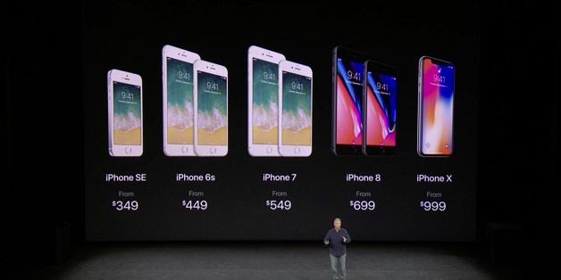 Những điểm khác nhau giữa iPhone X, iPhone 8, 8 Plus và 7, 7 Plus