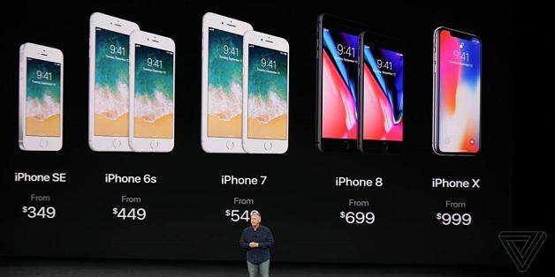 Apple giảm giá iPhone SE, 6S/6S Plus và 7/7 Plus sau khi ra iPhone mới
