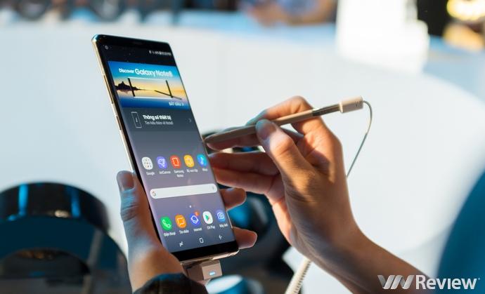 Samsung Galaxy Note 8 tại Việt Nam giá từ 22,5 triệu đồng, mở bán ngày 29/9
